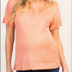 PinkBlush maternity shirt